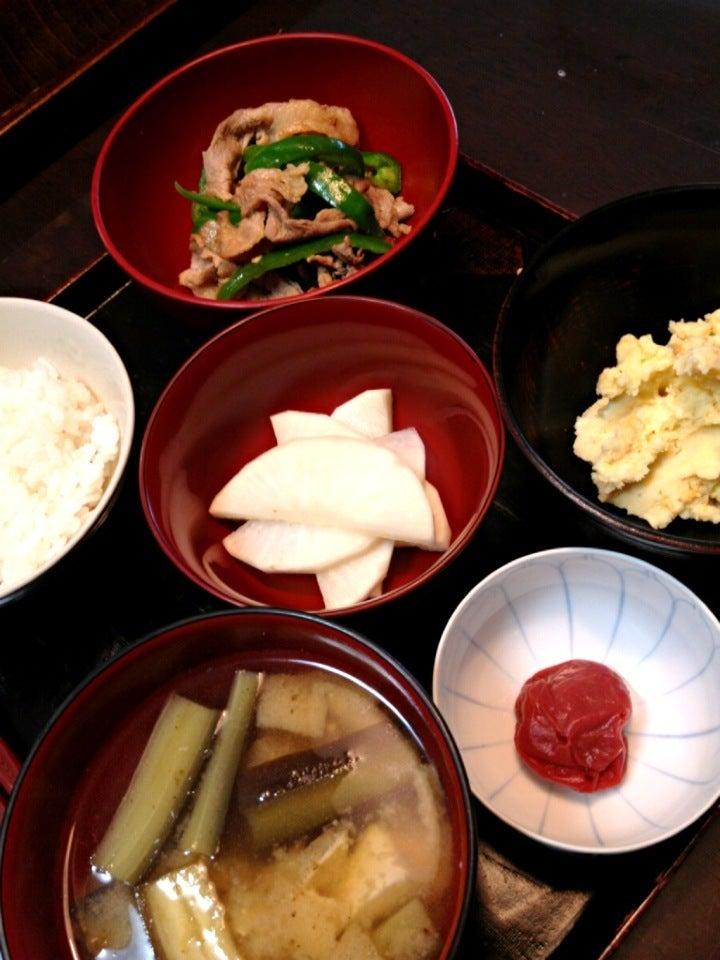 【おかん飯】朝ご飯 SnapDish 料理カメラ