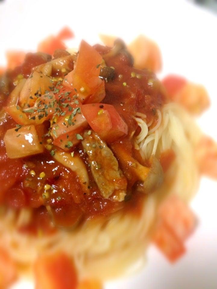 【ウチごはん】カッペリーニ SnapDish 料理カメラ