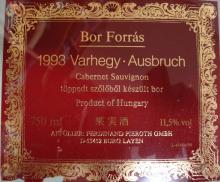Varhegy Ausbruch 1993