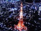 東京タワー上空