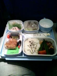 機内食写真