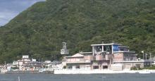 淡島のロープウェー
