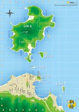 全国一斉 鞆の浦検定-鞆の浦map