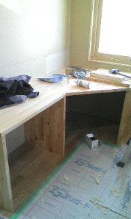 2F私の部屋・造作机