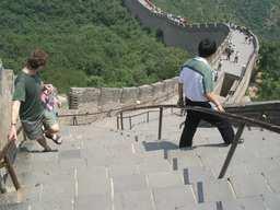 一番急な階段