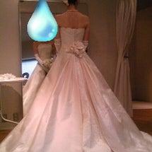 ウエディングドレスの…