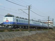 中央線の電車と釜-K60 春さきどり