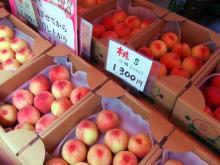 高坂果樹園の桃