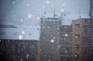 オイラ陽気なイタロ・ジャッポネーゼ■ミラノ-ミラノ、雪の風景