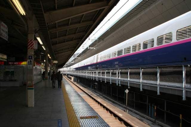 東京駅東海道線ホーム