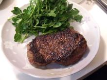 カルマンギアのある生活-ステーキの焼き方06