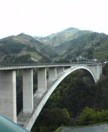 高千穂アーチ橋1