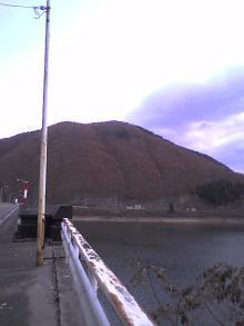 釜房湖仙台に向かって