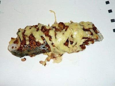 ぶろぐぅ。-鱈のチーズ豆腐そぼろのせオーブン焼き