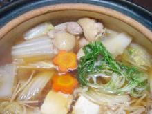 比内鶏 鍋(自作)