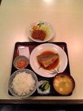 鯖の味噌煮&チキンカツのサービス定食 850円