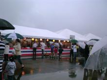 雨でもGO~~ 毎年の恒例イベント!