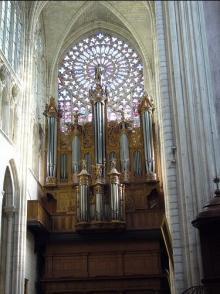 トゥールスの大聖堂パイプオルガン