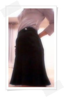 黒いスカート2