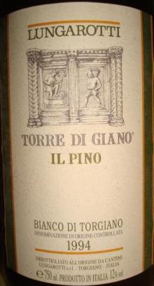 LUNGAROTTI Torre Di Giano 1994