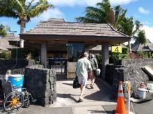 ハワイ島到着コナ空港4