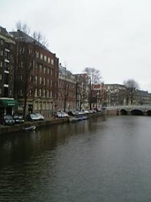 オランダの町並み