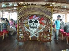 海賊船の中1