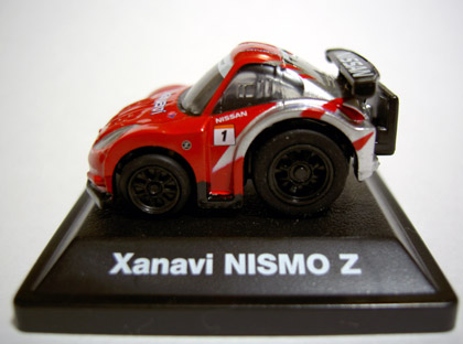 REAL RACING1 Xanavi nismo Z side
