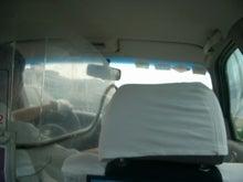 上海のタクシー内