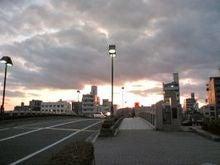 広島の夕焼け