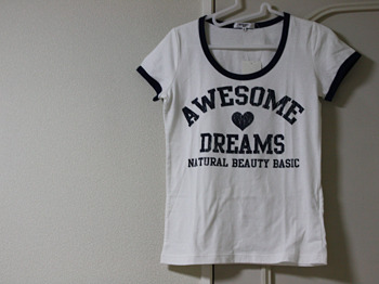NBBのTシャツ