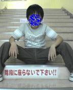 お店の階段で…(ヲイ