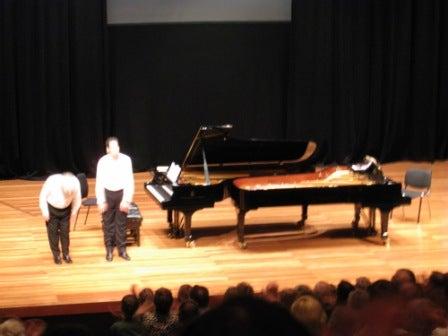 連弾ピアノコンサート