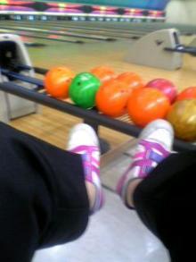 ボーリング。