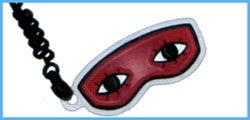 銀魂 予約特典 アイマスク型携帯クリーナー