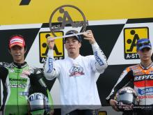 MotoGPクラス表彰台(オランダ)
