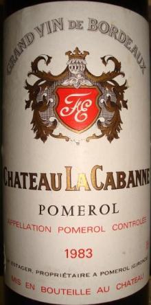 Ch LaCabanne 1983