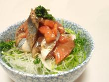 海鮮マリネ丼0