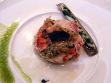 オマール海老のサラダ