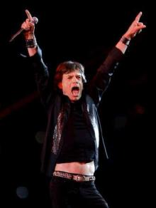 ROLLING STONES in SUPER BOWL