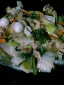 ブロッコリー八宝菜