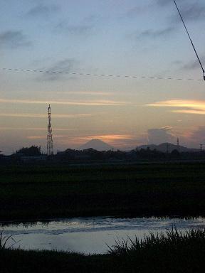 富士山VSうささん