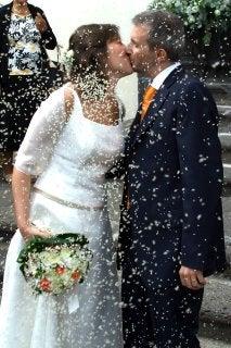 カターニアで結婚式
