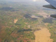 上空から見たインド