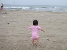 わ~い海だ~♪
