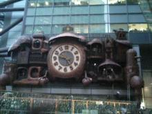 日テレ前-ジブリの時計