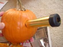 かぼちゃ穴