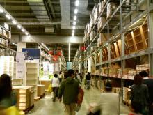 IKEA 1階倉庫2