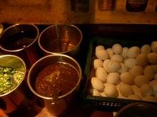 沙茶醤と生卵