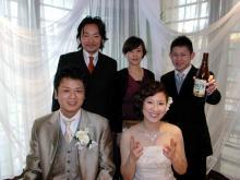 福岡市南区若久・美容室「Link hair」-恵美 結婚式